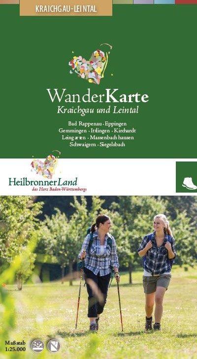Wanderkarte Kraichgau-Leintal